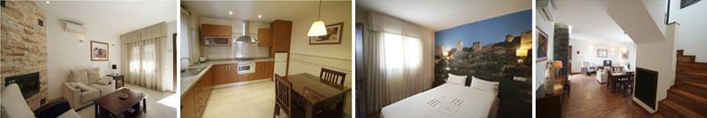 Apartamentos Ardales Oferplan habitaciones temáticas comodidad