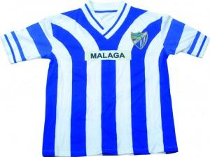 camiseta replica malaga 1997 gratis entrada partido oferplan