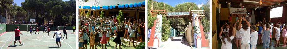 campamento semana blanca niños actividades malaga