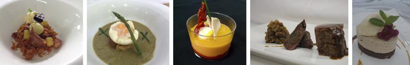 menu degustacion gourmet jacaranda jornadas gastronomicas malaga
