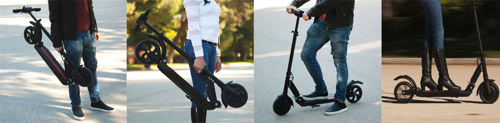 SCOOTER BLACK