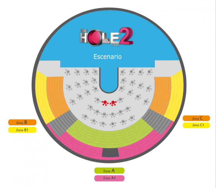 mapa the hole oferplan ultimas entradas descuentos