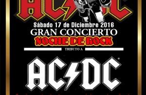 Gran concierto tributo a AC/DC y Homenaje a los éxitos del rock