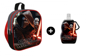 Mochila Star Wars + cantimplora plegable