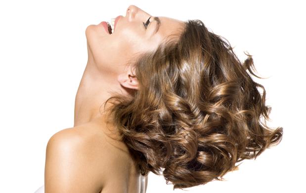 pelo largo masaje facial